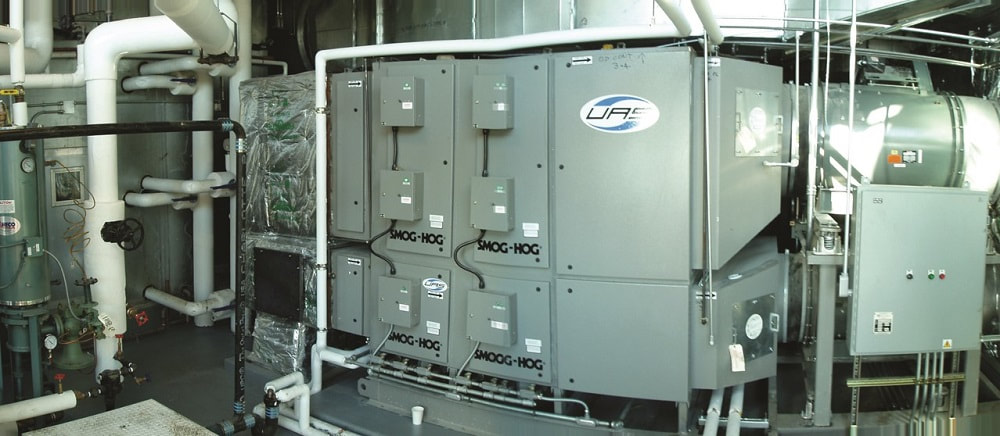Electrostatic precipitator from Oakland, CA