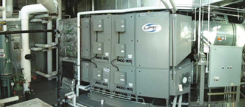 Smog Hog electrostatic precipitator San Francisco, CA