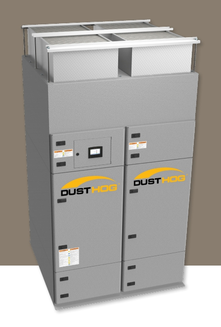 DustHog PNP dust collection system Sacramento, CA