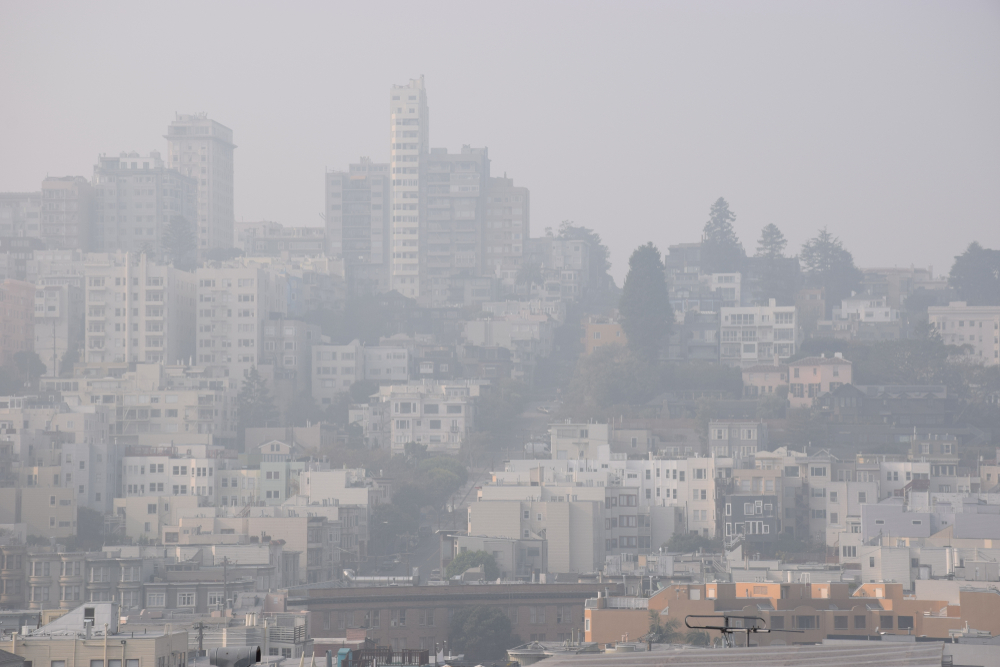 Issue in need of air pollution control in San Francisco, CA
