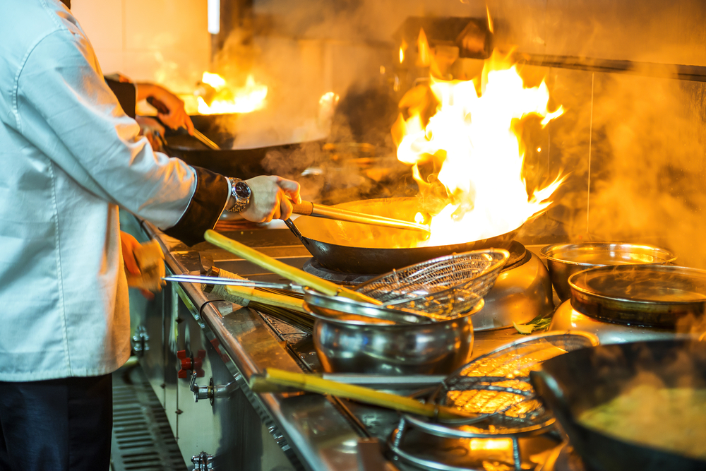 Commercial kitchen exhaust filtration in San Francisco